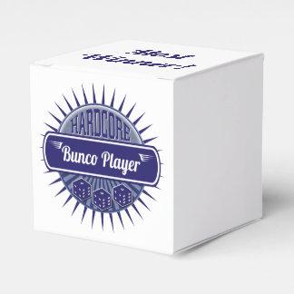 Bunco Prize Winner Bunco Player Dice Blue Favor Box