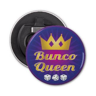 Bunco Queen Crown and Dice Bottle Opener