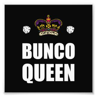 Bunco Queen Dice Photo Art