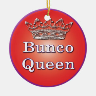 Bunco Queen Ornament