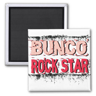 bunco rock star in pink magnet