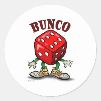 Bunco Round Sticker
