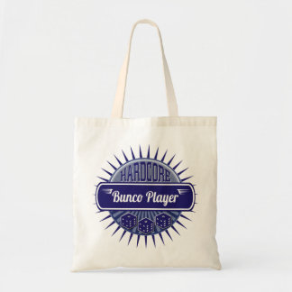 Bunco Supplies Dice Vintage Retro Blue Tote Bag