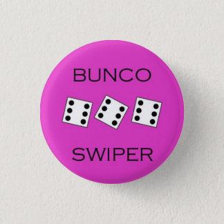 Bunco Swiper 1 Inch Round Button