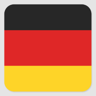 Bundesflagge Square Sticker