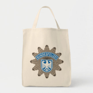 Bundespolizeistern Badge Tote Bag