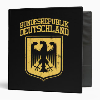 Bundesrepublik Deutschland/Allemand Eagle Classeurs