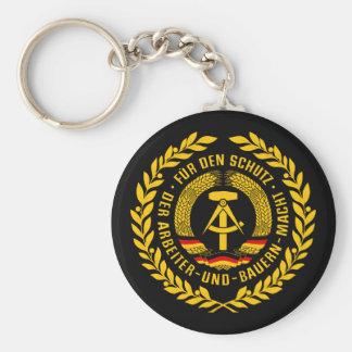 Bundesrepublik Deutschland / East Germany Wreath Basic Round Button Keychain
