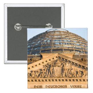Bundestag Berlin 2 Inch Square Button