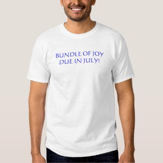BUNDLE OF JOY DUE IN JULY! T-SHIRT