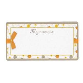 Bundle of Joy Name Tag Shipping Label