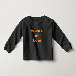 BUNDLE OF LOVE Black T-Shirts Tees Baby Clothing
