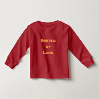 BUNDLE OF LOVE Toddlers T-Shirts Baby Clothing