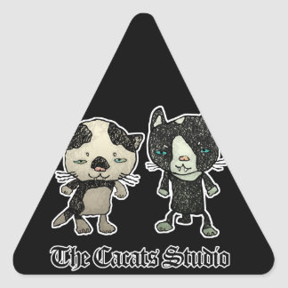 buneko3 triangle sticker