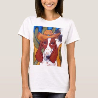 Bungalowart.com Desert Hound Ladies T-Shirt