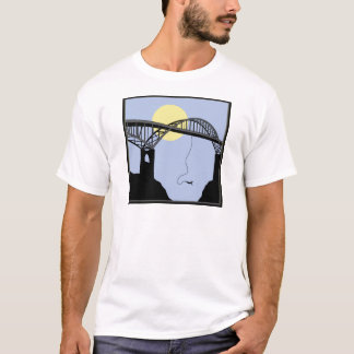 Bungee Jumping Bridge Scene T-Shirt