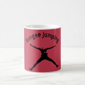 Bungee jumping coffee mug
