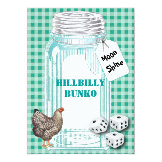 Bunko - Country Style or Hillbilly Style Card