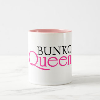Bunko Queen Two-Tone Coffee Mug