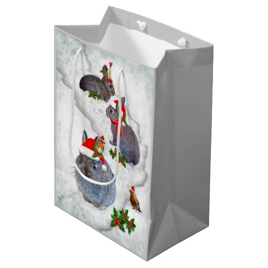 Bunnies' Christmas Party Gift Bag