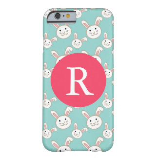 Bunnies Monogram Barely There iPhone 6 Case