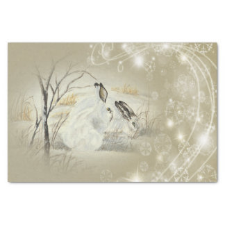 Bunnies/Rabbits Christmas Tissue Paper