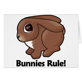 Bunnies Rule! Card