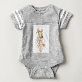 bunny 23 baby bodysuit