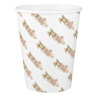 bunny 23 paper cup