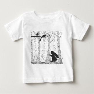 Bunny and Bird Baby T-Shirt