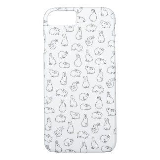 Bunny Apple iPhone 8/7, Barely There Phone Case