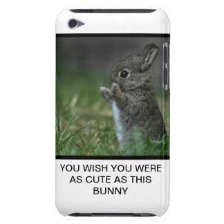 Bunny Barely There iPod Cover