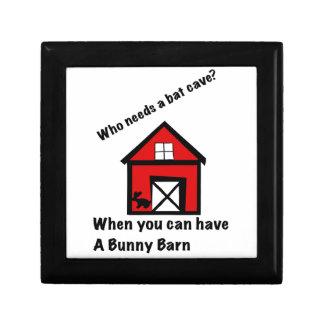 Bunny barn gift box