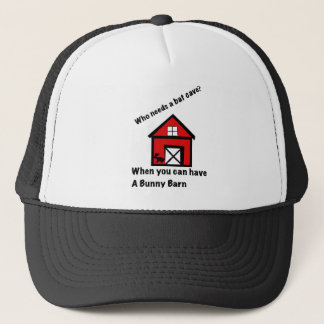 Bunny barn trucker hat