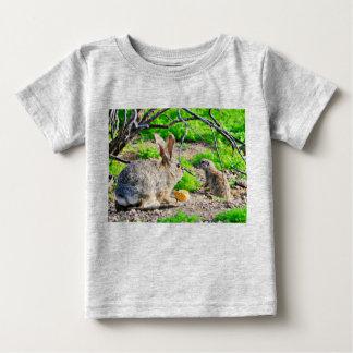 Bunny Breaking Bread Baby Jersey Tee Shirt