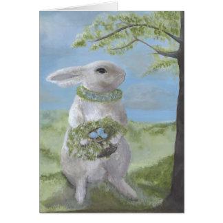 Bunny Card w/Greeting