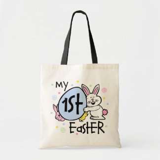 Bunny Chickie 1st Easter Tote Bag