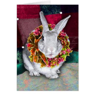 Bunny Christmas Card 2