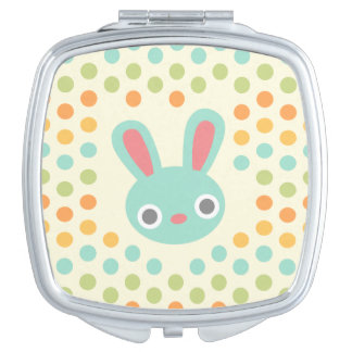 Bunny compact mirror
