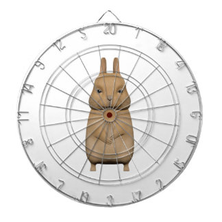 Bunny cute and lovely dartboard