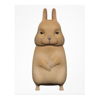 Bunny cute and lovely letterhead