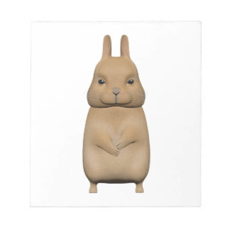 Bunny cute and lovely notepad