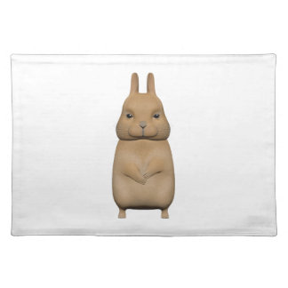 Bunny cute and lovely placemat