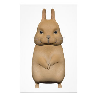 Bunny cute and lovely stationery