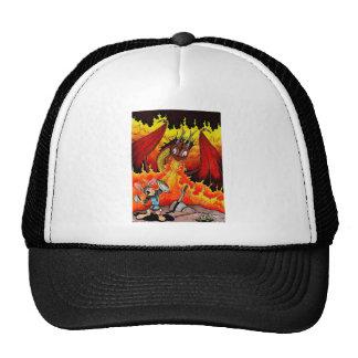Bunny Dragon Slayer Mesh Hat
