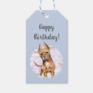 Bunny Ears 2 Birthday Gift Tags