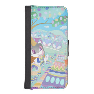 Bunny Easter Phone Wallet Case