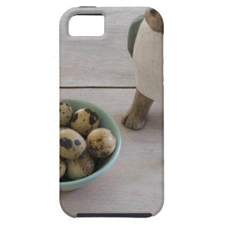 Bunny & eggs in a bowl case for the iPhone 5