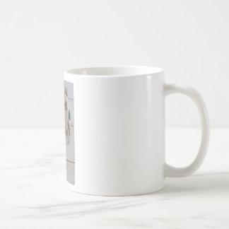 Bunny & eggs in a bowl coffee mug