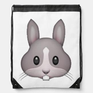 Bunny - Emoji Drawstring Bag